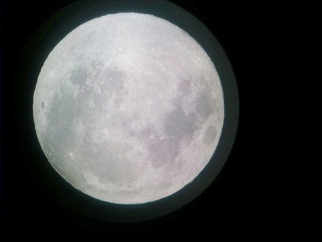 先日の満月『美ら星ウォッチング』