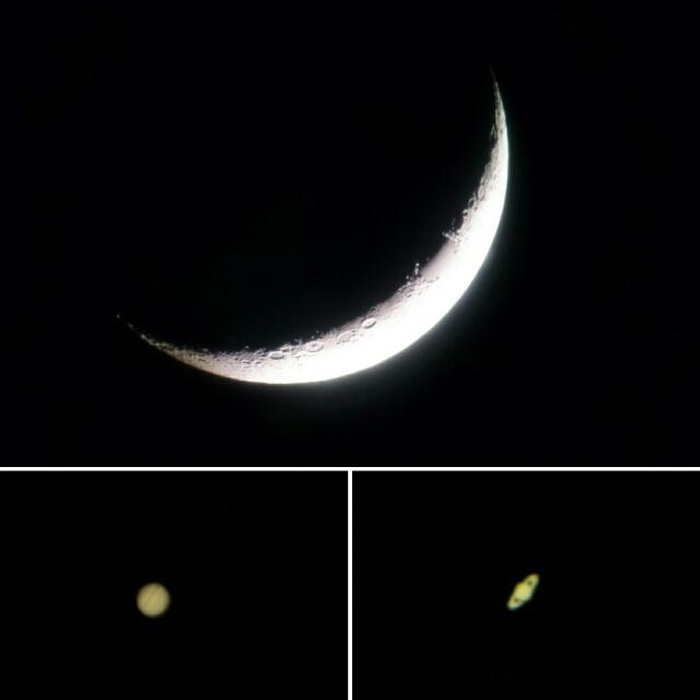 三日月の夜…『美ら星ウォッチング』☆彡
